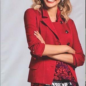 CAbi Red Jacket, size 4